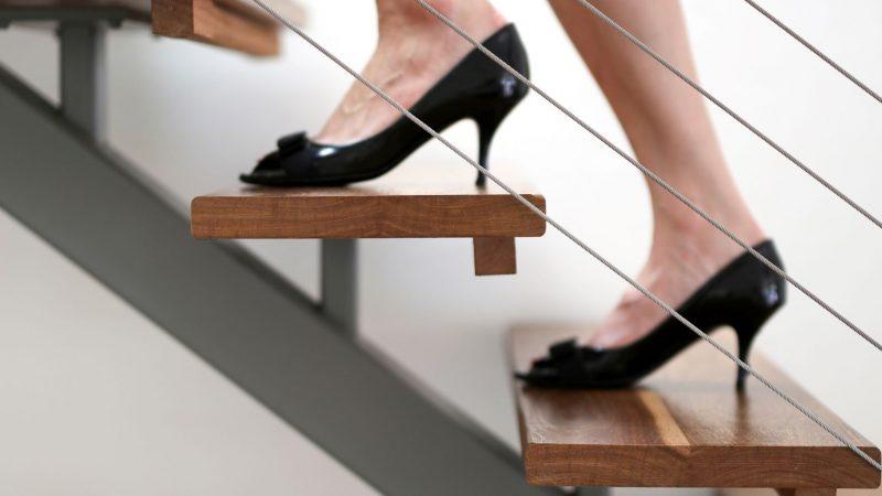 L'eleganza unica delle scale a giorno